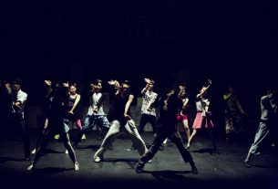 group of dancers while dancing