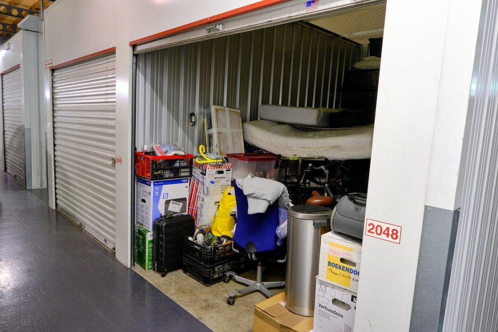 Stuff inside a Wyong storage unit