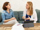 Woman meeting a mindfulness coach